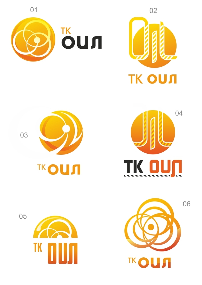 Дизайн логотипа компании ТК-Ойл